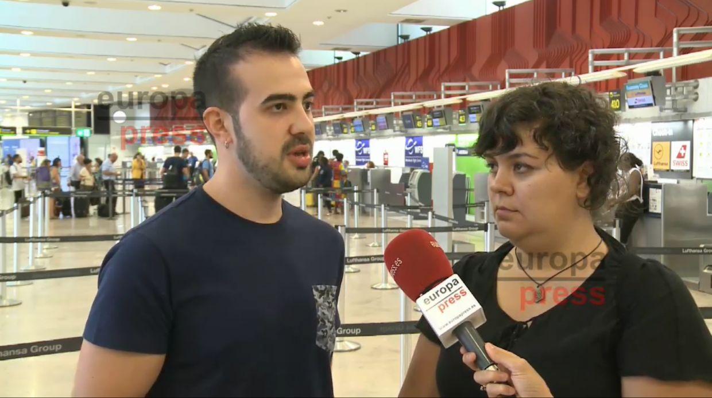 Javier García, sordociego español