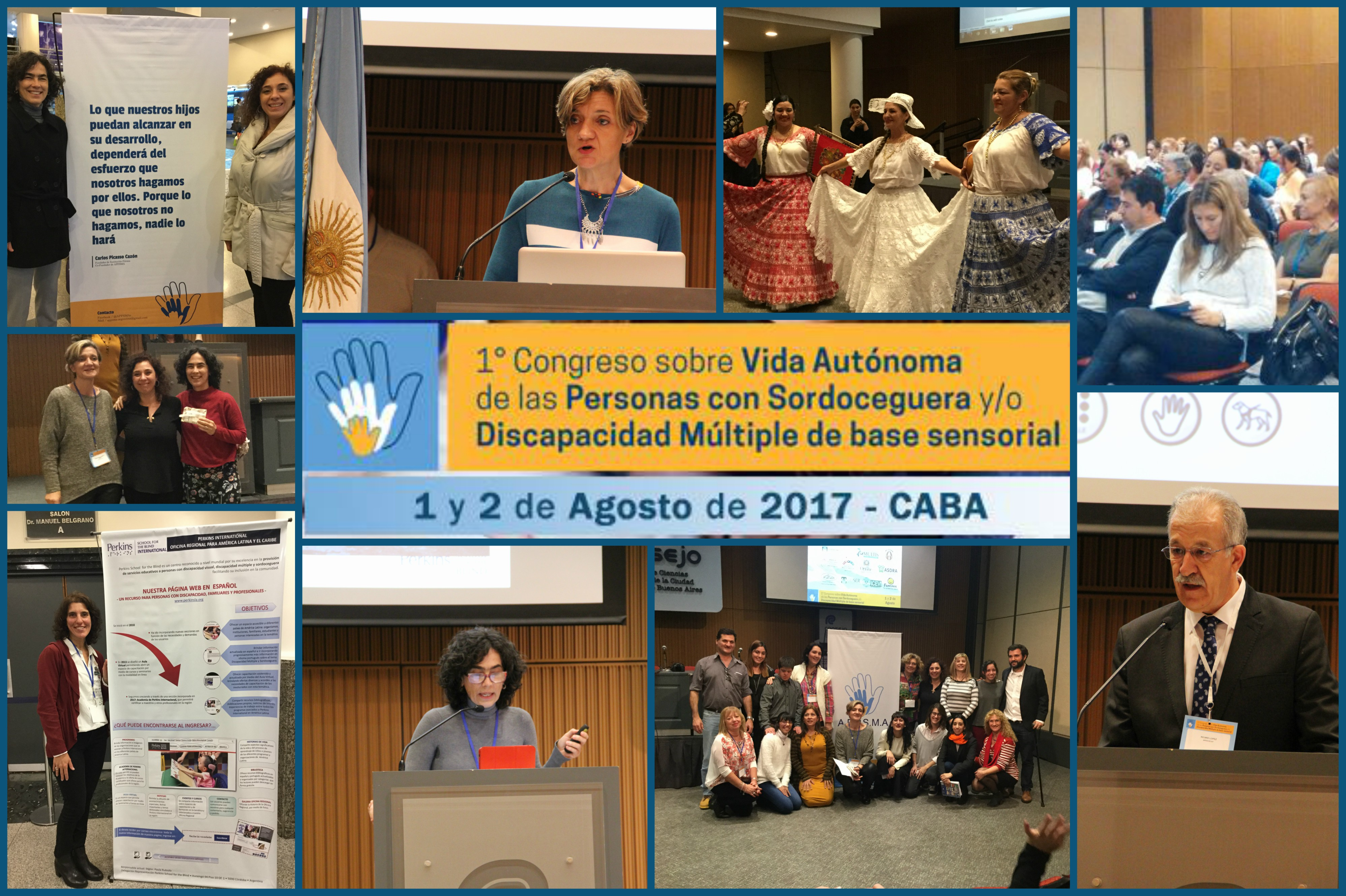 Congreso sobre vida Autónoma de personas con sordoceguera o discapacidad múltiple