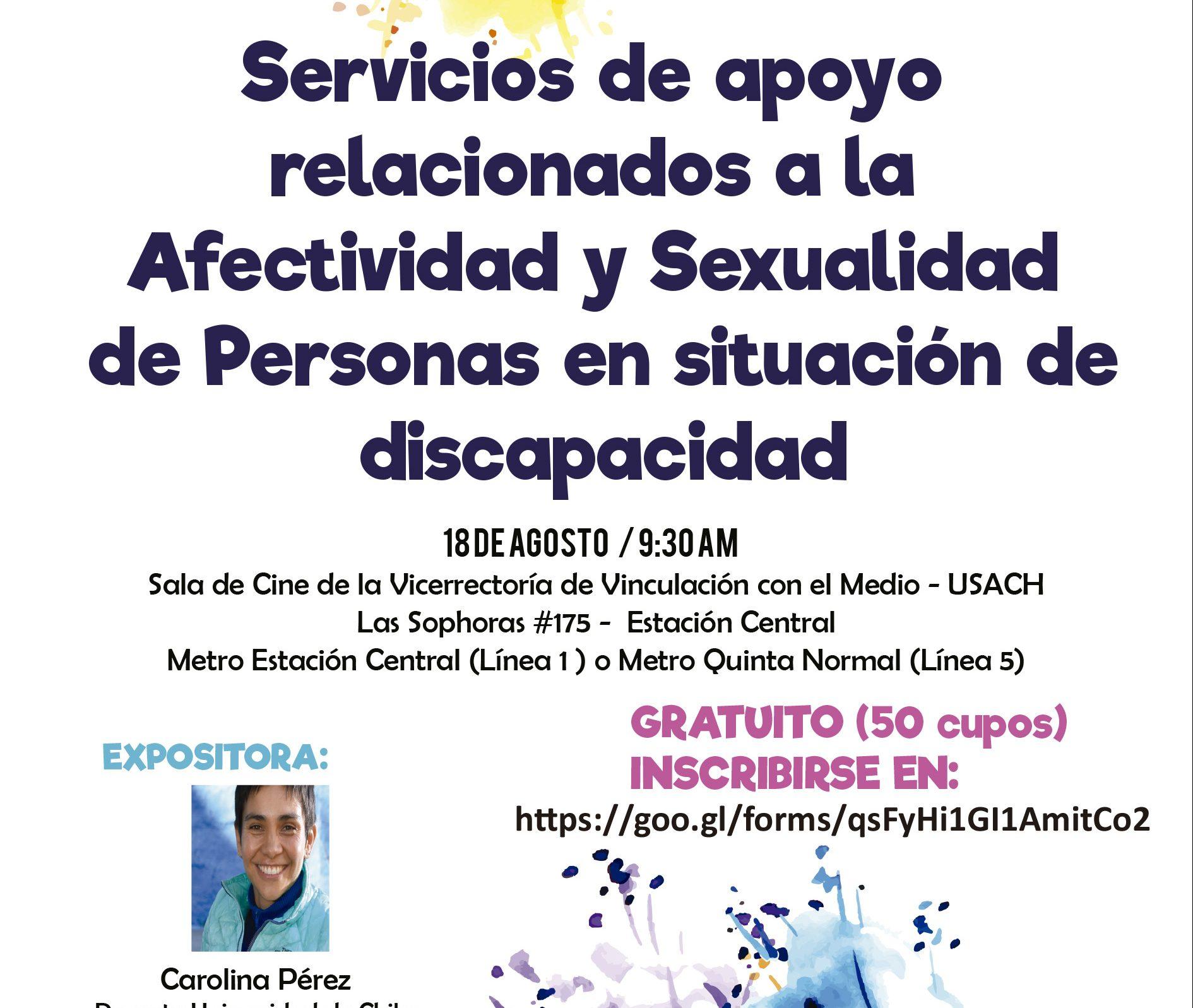 Encuentro sobre servicios de apoyos relacionados a la afecitivdad y sexualidad