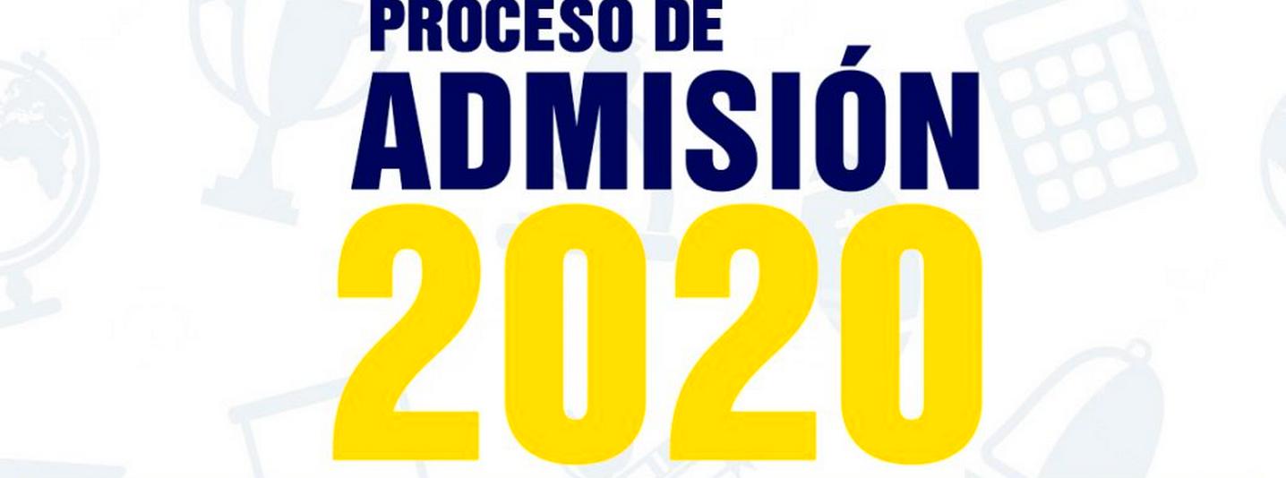 Admisión 2020