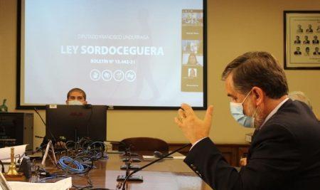 Sesiones Comisión de Desarrollo Social – Proyecto de Ley Sordoceguera